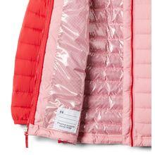 Casaca Sintetica Powder Lite™ Girls Hooded Jacket Para Niña